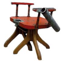 Cadeira de pesca de Arsénio Cordeiro